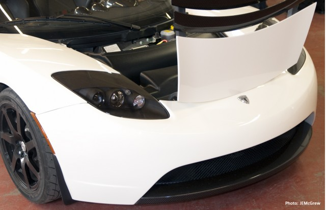 Tesla Roadster Sport at Boulder, Colorado Dealership