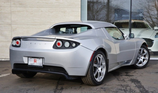 Old Mill Gm >> How much is a prototype Tesla Roadster really worth?