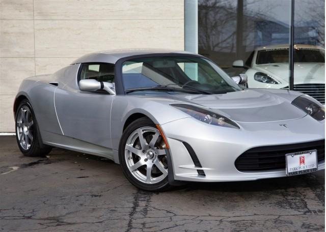 Tesla Roadster Prototype for sale on eBay
