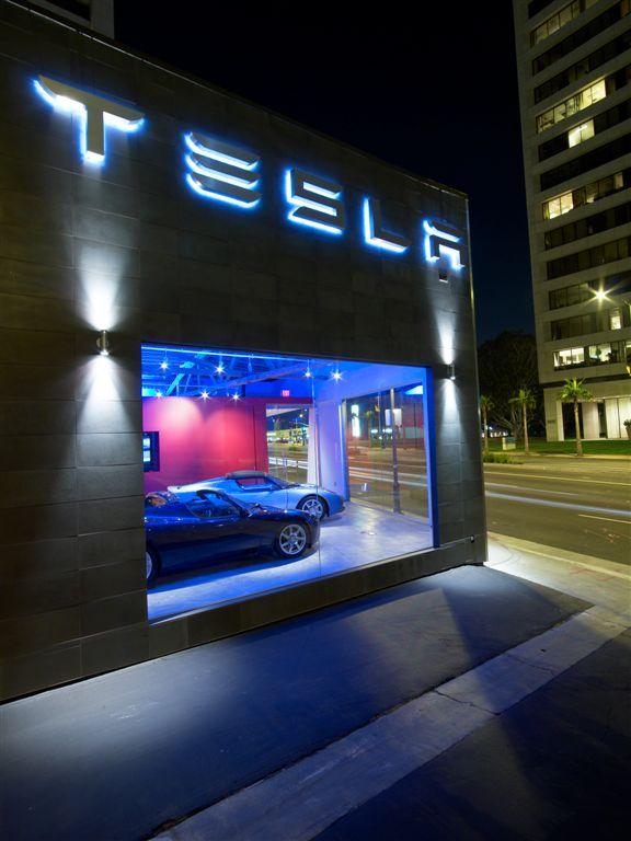 Tesla Store in LA