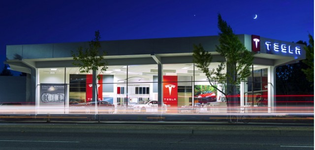Tesla Store, Palo Alto