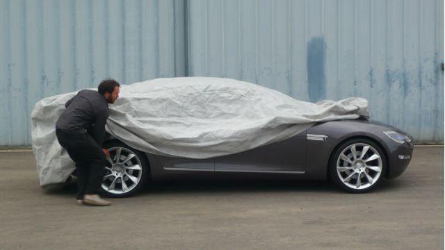 Tesla Model S unveiling