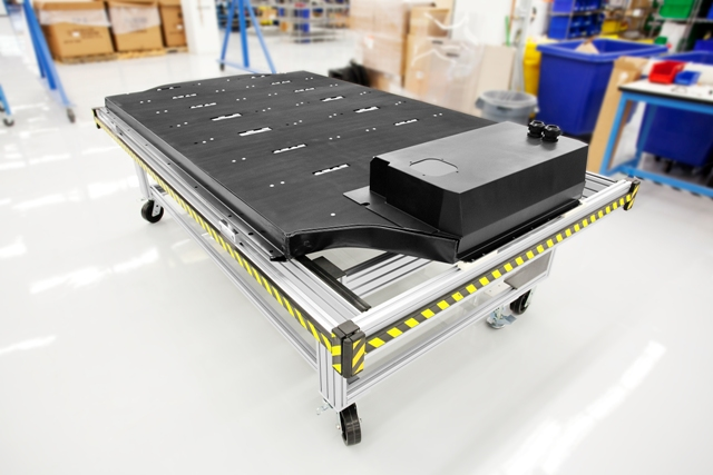 Tesla Motors - Model S lithium-ion battery pack