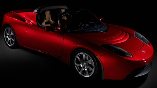 Tesla's lightweight electric car unveiled
