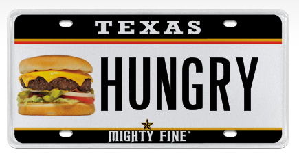 This License Plate Brought To You By McDonald's
