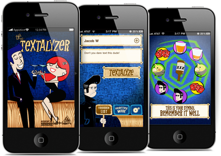 Textalyzer app for iPhone