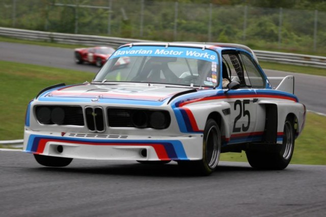 The 1975 BMW 3.0 CSL, to be driven by BMW NA CEO Ludwig Willisch