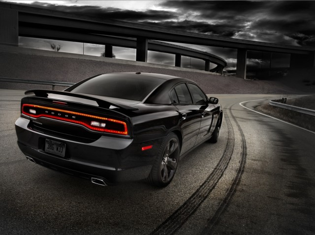 The 2012 Dodge Charger Blacktop