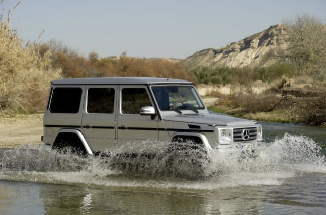 The 2013 Mercedes-Benz G-Class - image: Mercedes-Benz