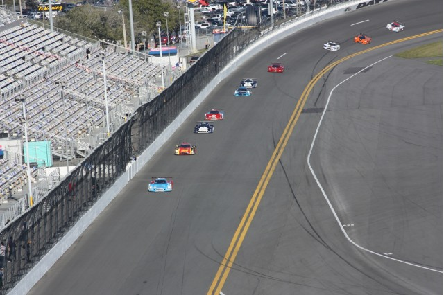 The 2013 Rolex 24 at Daytona begins