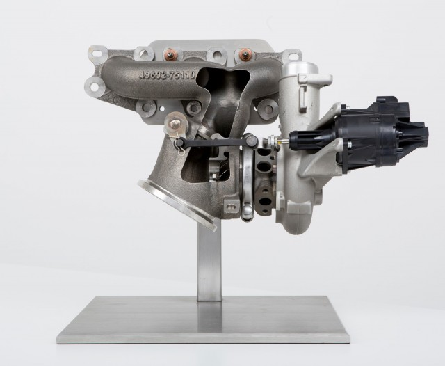 The 2014 BMW M3 / M4 turbocharger