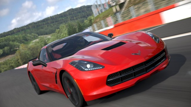 The 2014 Corvette Stingray in Gran Turismo 5