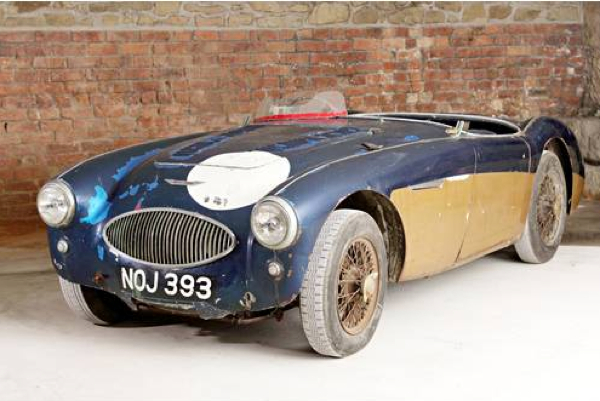 The Austin-Healey Special Test Car, registration NOJ 393. Image: Bonhams