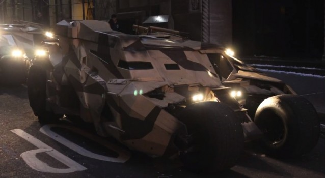 The Batmobile from The Dark Knight Rises