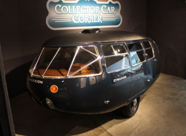 The Buckminster Fuller designed Dymaxion - image: National Automobile Museum