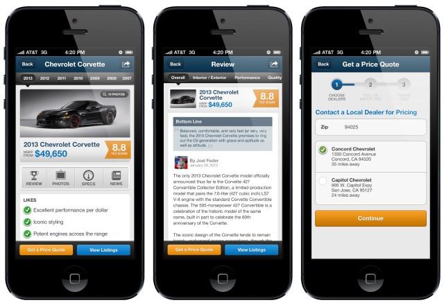 The Car Connection iOS Application