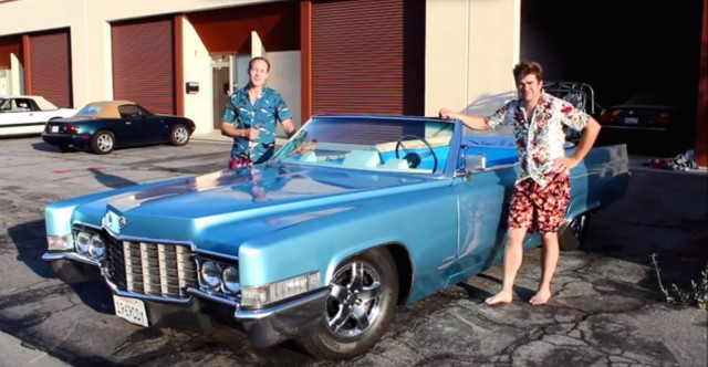 The Carpool DeVille with its creators