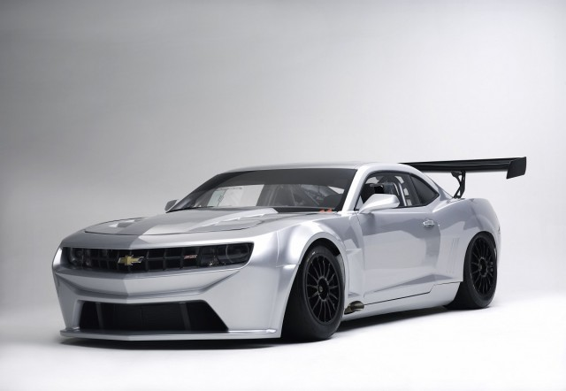 The Chevrolet Camaro GT racer from Sareni United. Image: Sareni United