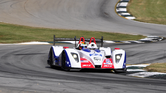 The customer No. 22 OAK-Pescarolo made podium at Petit Le Mans - Anne Proffit photo