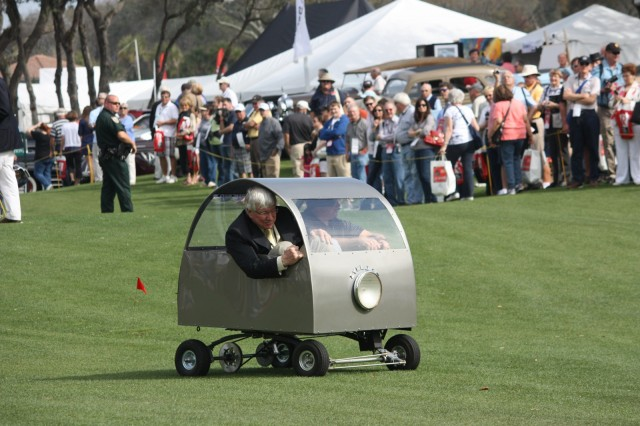 The Cyclops II microcar at Amelia Island