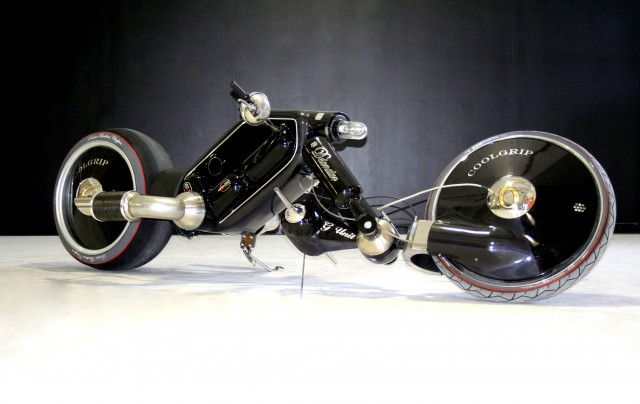The Detonator - Electric chopper motorcycle