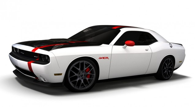 The Dodge Challenger SRT8 ACR, built for SEMA 2011. Image: Chrysler Group LLC