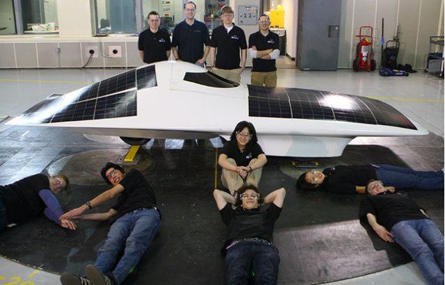 The *Eleanor* solar racecar from MIT