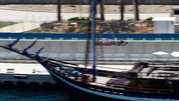 The European Grand Prix in Valencia