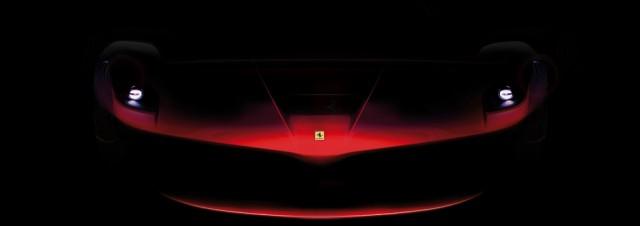 The Ferrari F150's front