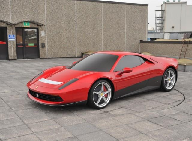 The Ferrari SP12 EC - image: Pininfarina