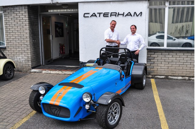 The final Caterham R500 Superlight