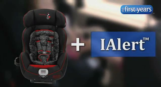 The First Years with IAlert Car Seat