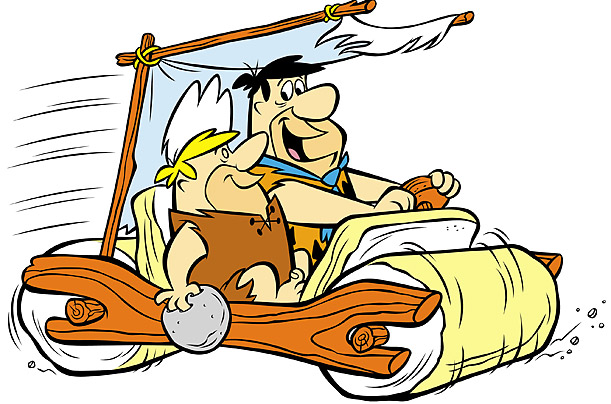The Flintstones car