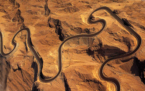 The greatest driving road in the World is in...Dubai?
