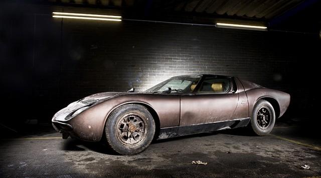 The Lamborghini Muira gifted to Stamatis Kokotas by Aristotle Onasis - image: Classic Driver