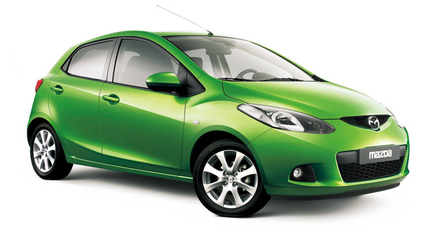 The Mazda2 is one of Maeda's designs