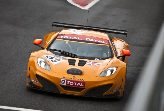 The McLaren MP4-12C GT3. Image: McLaren Automotive