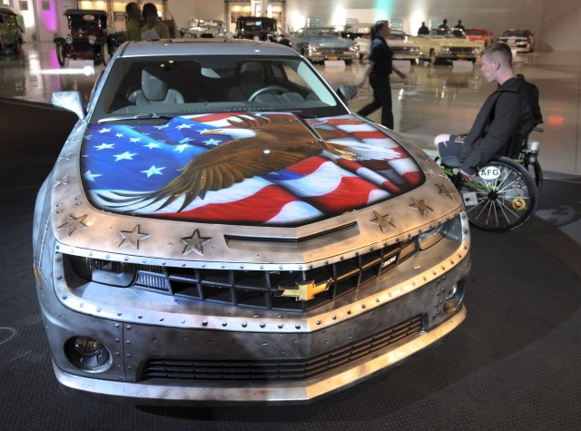 The Military Tribute Edition Camaro