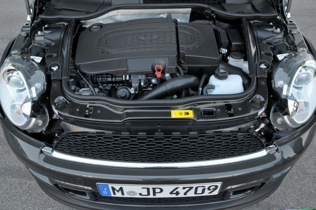 The MINI Cooper SD diesel