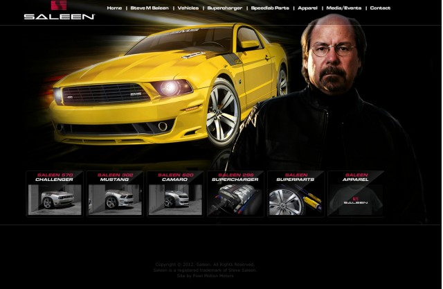 The newly-updated SMS Supercars website.