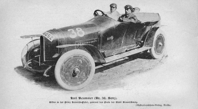 The Prinz Heinrich Benz, from the Mercedes-Benz Museum collection - image: Mercedes-Benz
