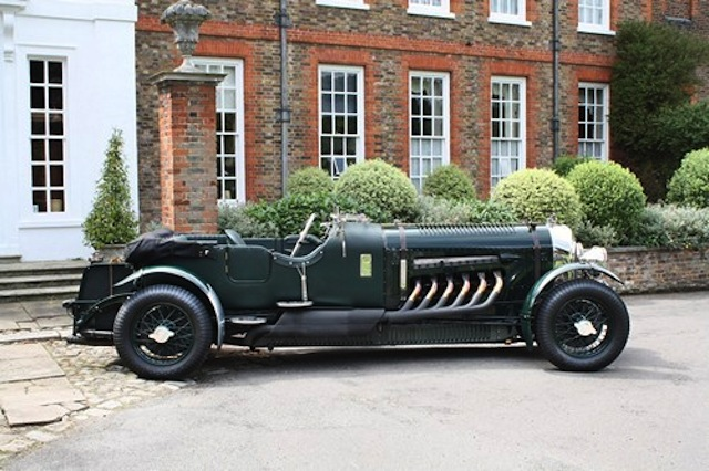 The Spitfire-powered Bentley Meteor - image: Coys