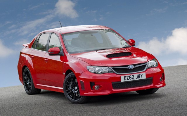 The U.K.-only Subaru WRX STI 340R