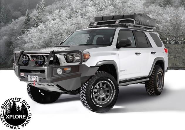 The Xplore Adventure Series Toyota 4Runner