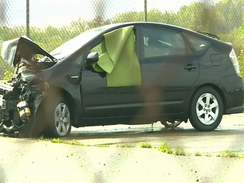 This is why you don't ignore flat tires. Image: WTAE