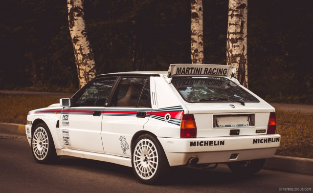 This Lancia Delta HF could be yours if you'd just step up and be heard. Image via Petrolicious.