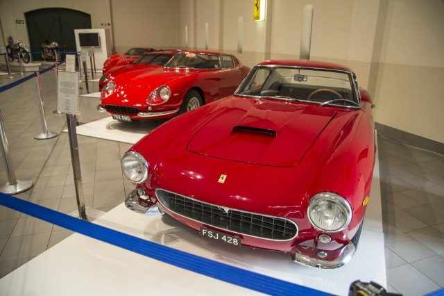 Ferrari 250 GT short-wheelbase at Franschhoek Motor Museum, South Africa