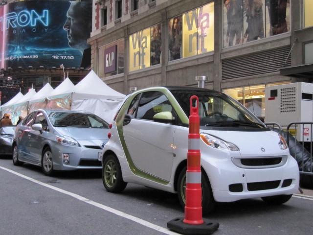 Smart Electric Drive at Hertz Global EV rental launch, New York City, December 2010