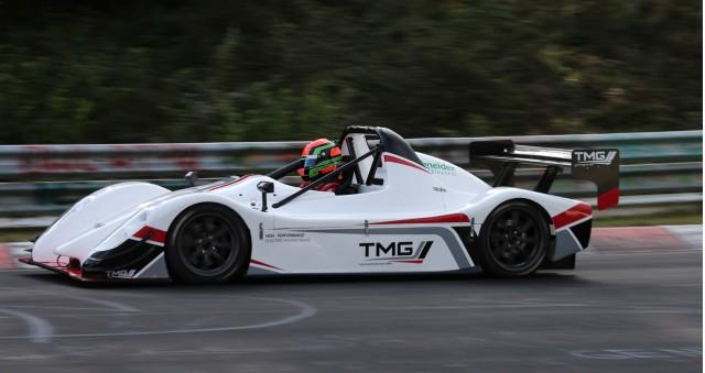 TMG EV P002 at the Nürburgring