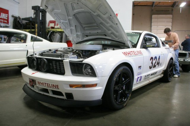 TMS NASCAR Powered AIX Mustang
